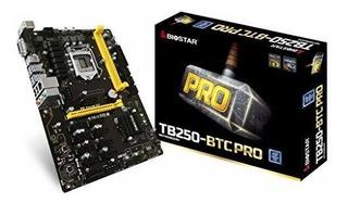 Biostar Placa Base Tb250btc Pro Core I7 / I5 / I3 Lga1151 In