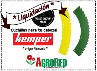 Cuchillas Cabezal Kemper - Agricola - Agrorep