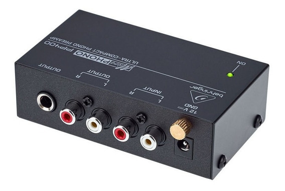 Preamp Behringer Pp400 Para Phono