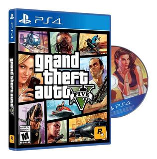 Gta 5 Juego Ps4 Fisico Grand Theft Auto V Original Sellado