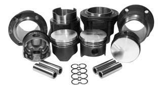 Kit De Motor Repuestos Fusca 1600 Cabeza Plana Mahle 85.5mm
