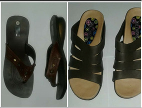 Lote De 2 Pares De Sandalias. Lea Descripcion
