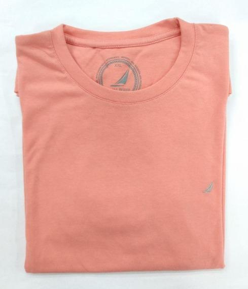 Round Britain Camiseta Cuello Redondo Para Hombre