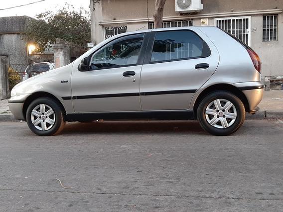 Fiat Palio 1.3 Mpi Año 1998 Color Gris 5 Puertas