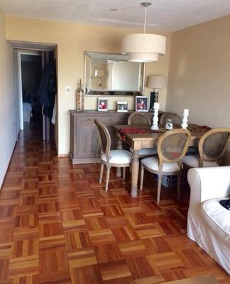 Solido Apartamento En Inmejorable Punto De Parque Batlle