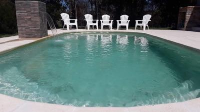 Casa 8 Per. 1 Del Mar Y Piscina Piriapolis , Solis U$s 2500