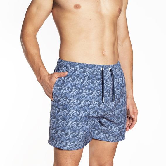 Short De Baño Hombre Crouch - Hojas