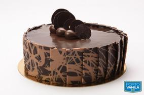 Torta Delicia Chocolate Porto Vanila De 18 A 20 Porc. (4491)