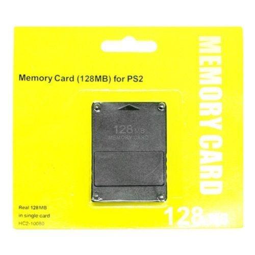Nuevo Negro M 128 128mb Ps2 Tarjeta De Memoria De La Consola