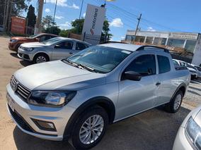 Volkswagen Saveiro 1.6 Trendline D/cabina 2018! Nueva! Pto!