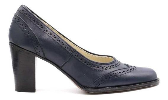 Zapato De Dama De Cuero Marcel Calzados (mod.13530)