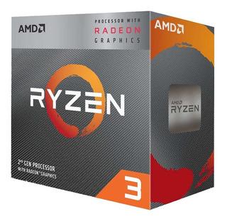 Procesador Amd Ryzen 3 3200g 3,6ghz Gamer 4 Núcleos Am4 Nnet