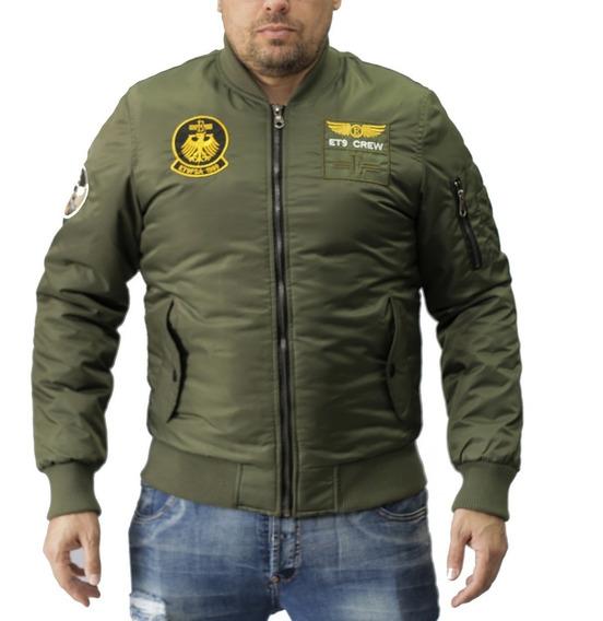 Campera Nylon Bomber Vanderholl Hombre / Apache Look 01