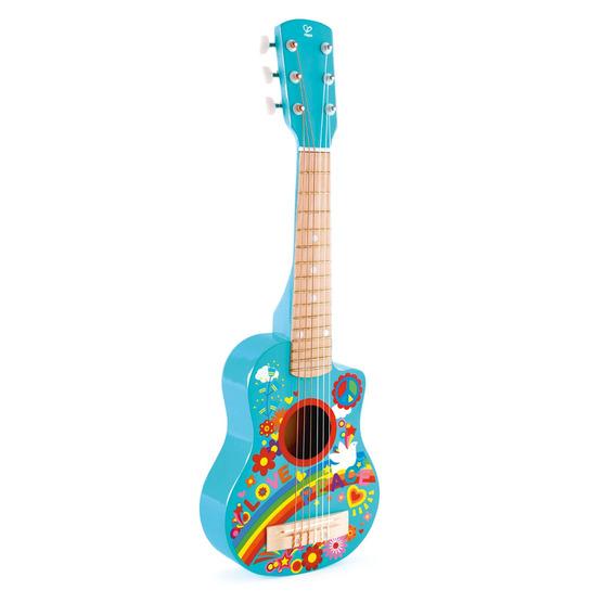 Guitarra 66 Cm - Hippie Niños Hape