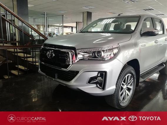 Toyota Hilux Srv Plus 2018 Gris Oscuro 0km Entrega Marzo