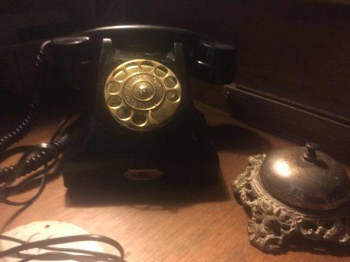 Antiguo Telefono Ericson Modelo 1937 Funcionando Ficha Nueva