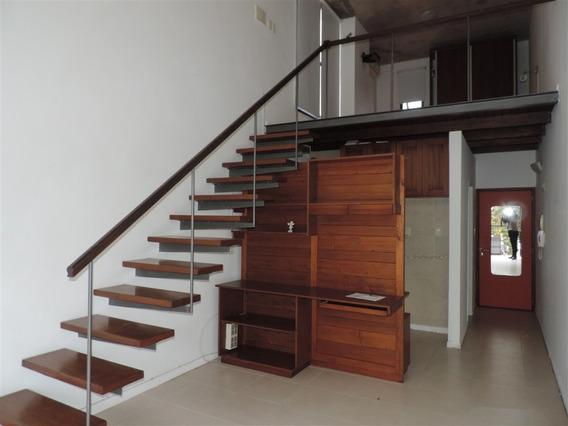 Apartamento De Un Dormitorio Con Parrillero En Pleno Centro