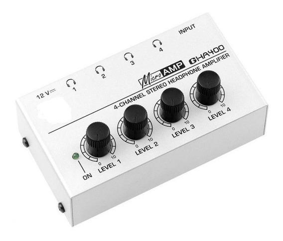 Amplificador / Auricular Potencia Para Auriculares Gha400