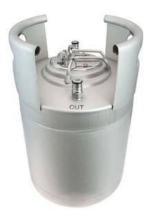 Barril Cerveza 10 Lts Keg Cornis Apilables Ball Lock Inox