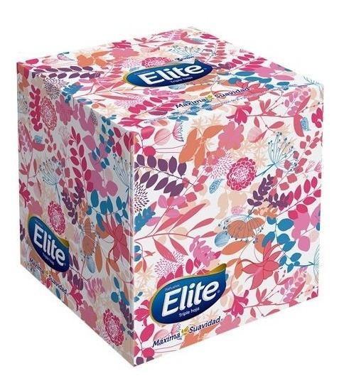 Pañuelos Faciales Elite Premium Cubo X60