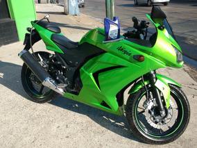 Carenado Completo + Tanque Kawasaki Ninja 250 R Verde Candy