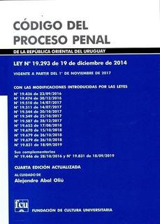 Libro: Código Del Proceso Penal / 4ta Edición- 2019
