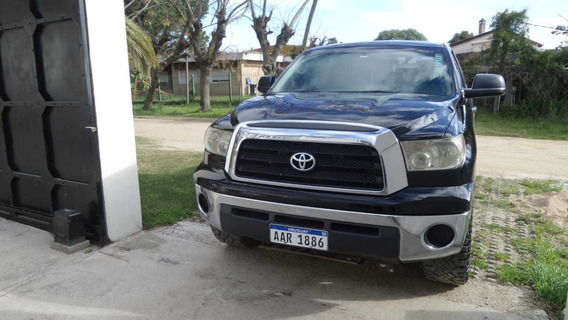 Toyota Tundra Xsp 2008 Negra 4 Puertas