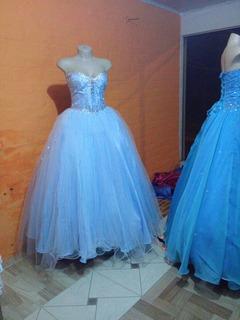 Vestido Xv Años Azul Turquesa En Mercado Libre Uruguay