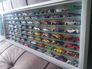 Vitrina Para Hot Wheels Matchbox Majorette