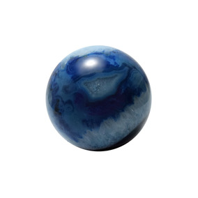 Bolilla De Piedra Ágata Azul By Sarah Kosta Joyas