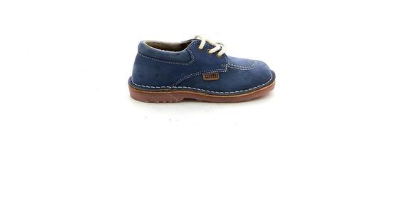 Zapato Country Acord. Vaqueta C/costura S/vibran