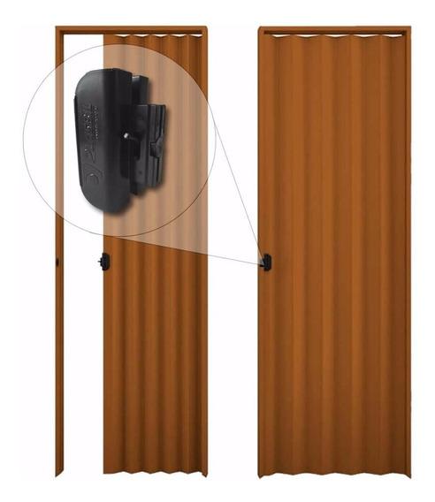 Puerta Pvc Corrediza Plegable 210 X 80 Mulata Cm 0.80 M
