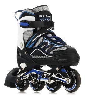 Patines Roller 4 Ruedas Con Luces Push 058.p18170019