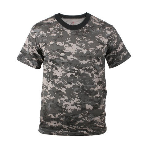 Remera Subdued Urban Digital Camo Rothco Talle Xl