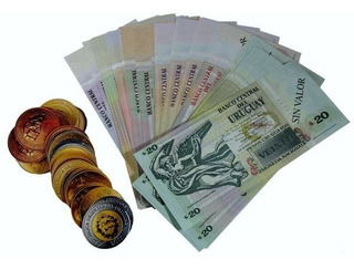 Monedas Y Billetes Uruguayos De Juguete | Escool