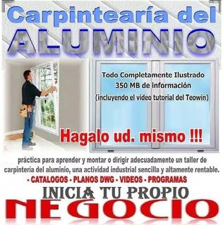 Planos Trabajos Aluminio Carpinteria Ventanas + Optimizador