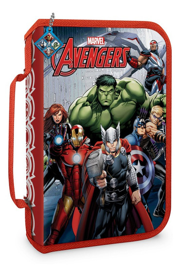 Cartuchera Con Cierre En Pvc Avengers 85132