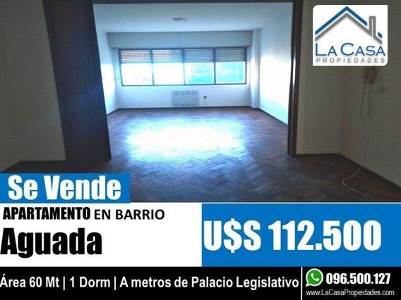 Apartamento En Venta 1 Dormitorio En Aguada!!!