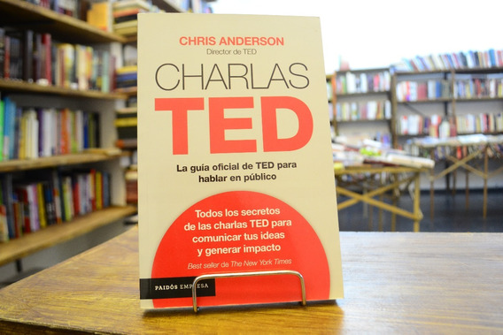Charlas Ted. Chris Anderson.