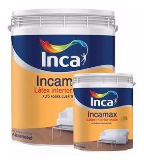 Pintura Inca Interior Lavable Incamax 20lts + 4lts Blanco