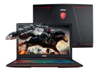 Notebook Msi Gp63 I7 16gb 1tb + Ssd 256gb Gtx 1060 Dimm