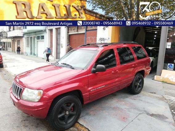 Jeep Grand Cherokee Limited 2002 Financio Permuto