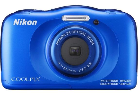 Camara Digital Nikon W100 Sumergible, 1 Año Garantía Oficial
