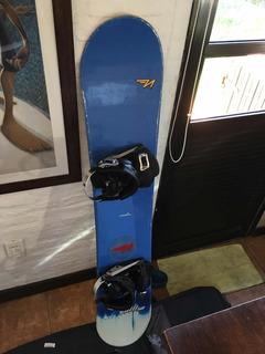 Tabla Snowboard 150cm Nidecker Con Funda! Oferta!!!