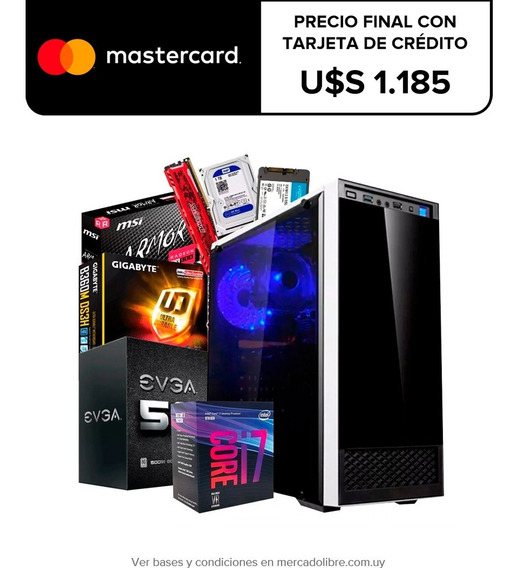 Pc Gamer I7 8700 16gb Ram Ssd 240gb Msi Rx570 8gb Futuro21