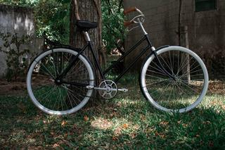 Bicicleta Inglesa De Dama Contrapedal Reciclada