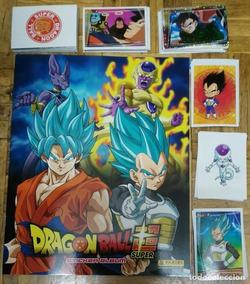 Album Figuritas Panini Dragon Ball Super Completo