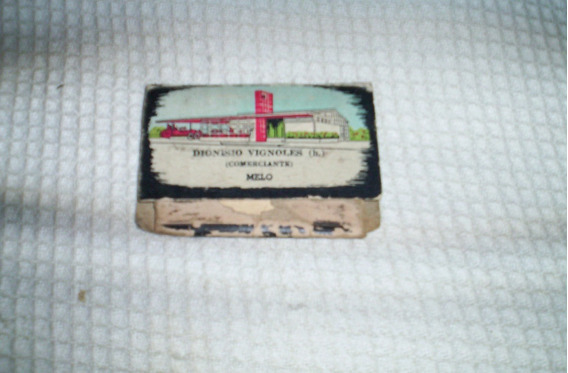 Antigua Cajita De Fosforos Comercio Del Interior--