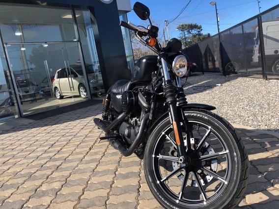 Harley Davidson Sporter Iron 883 2017 Como Nueva !! Aerocar