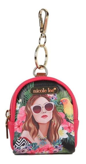 Monedero Mochila Nicole Lee Usa Vacation Girl (prt6622)